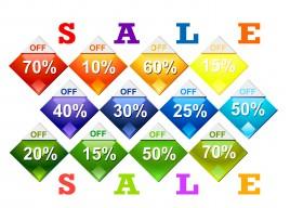 diamond shape price tags