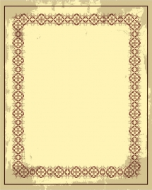 document border design retro design seamless symmetry decor