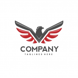 eagle bird logo vector creative hawk logotype phoenix bird illustration logo