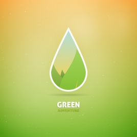 eco green concept background