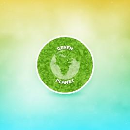 eco green planet concept