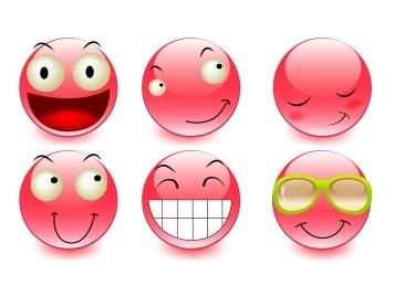 emotion face set