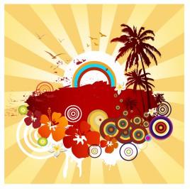 Exotic summer design