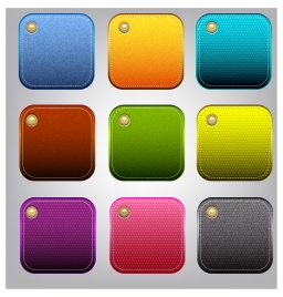 fabric pattern button set
