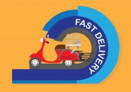 fast delivery design concept