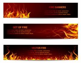 Fire banner design