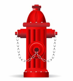 Fire hydrant vector art