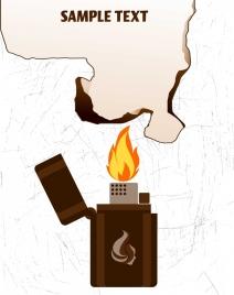 firing background matchbox burnt sheet icon