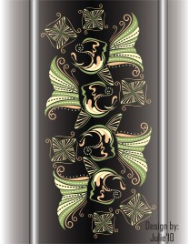 Fish Batik pattern