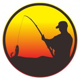 fishing shillouette