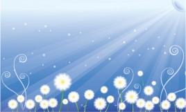 Floral scene