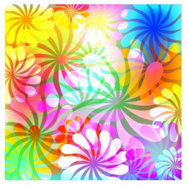 Flowers  Abstract background