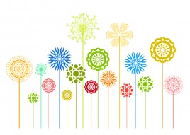 flowers design element collections