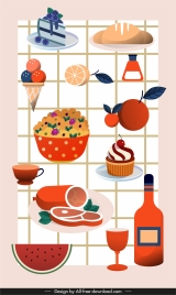 food background colorful classic decor