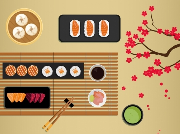 food background traditional japanese style decor