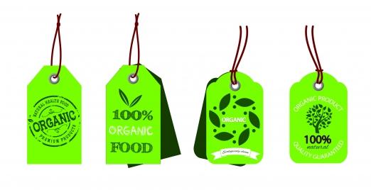 food organic tags