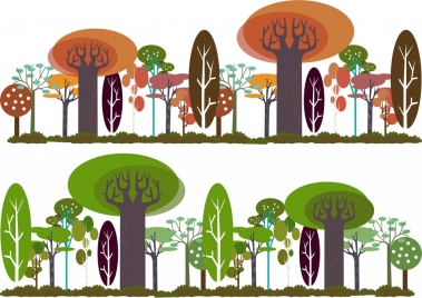 forest background templates multicolored geometry design