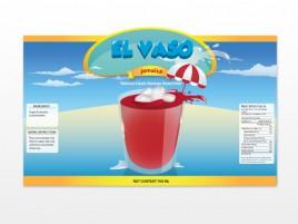 Fresh Drink Label Vector Design