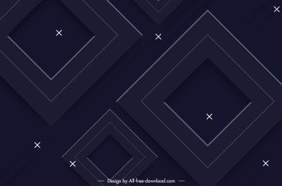 geometric background modern dark squares sketch
