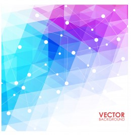 geometric network abstract background