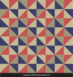 geometric pattern colorful flat symmetric delusion decor