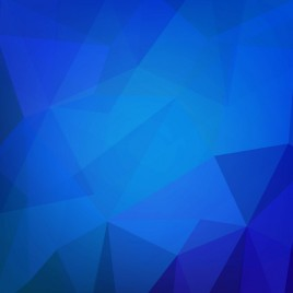 geometry blue abstract background