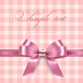 gift background pink knot icon 3d design