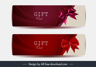 gift card template elegant modern knot decor