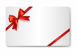 Gift card vectors stock in format for free download 96743kb gift card with red ribbon yadclub