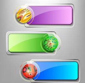 glass frames shiny colorful horizontal style circle decoration