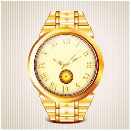 golden watch