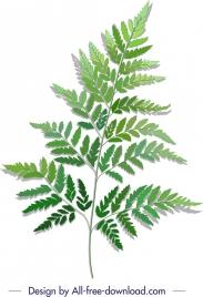 green leaf background modern design