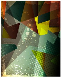 grunge geometric abstract background