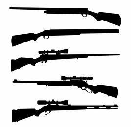 Gun Sillhouettes