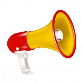 hand speaker object