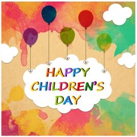 happy children day background