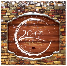 happy new year 2017 decor