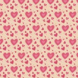 heart pattern background