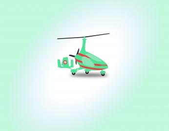 helicopter for medical transportation
