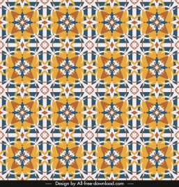 illusive pattern template classical repeating symmetrical design