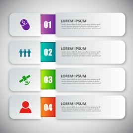 infographic vector illustration with modern style design
