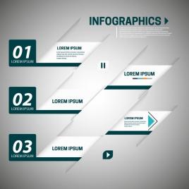 infographic vector illustration with slant design