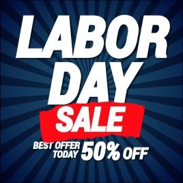 labor day sale offer banner