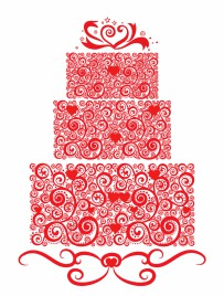 Lacy Wedding Cake