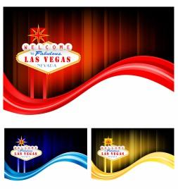 Las Vegas flow backgrounds
