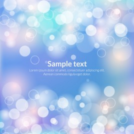 light and circle blue abstract background