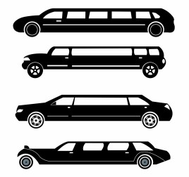 Limousines silhouettes