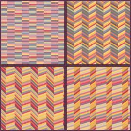 line pattern set