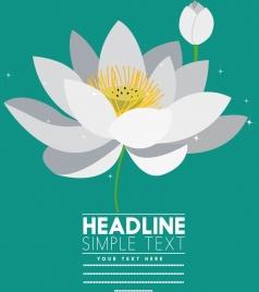 lotus background bright white icon