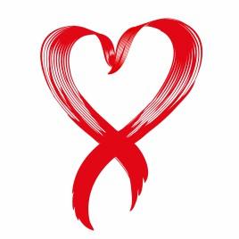 Love awareness ribbon